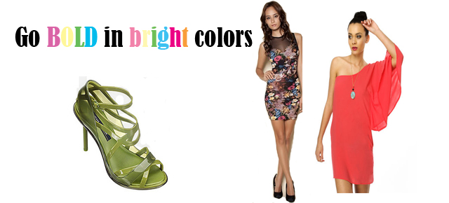Go Bold in Bright Colors