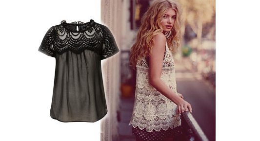 Sheer and Flirty Summer Tops