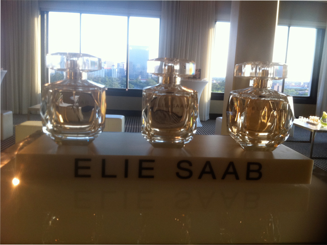 Elie Saab perfume bottle
