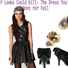 If Looks Could Kill - The Dress You'll Want for Fall