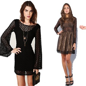 Feeling Lacy? 5 Dresses with Lace Written All Over Them