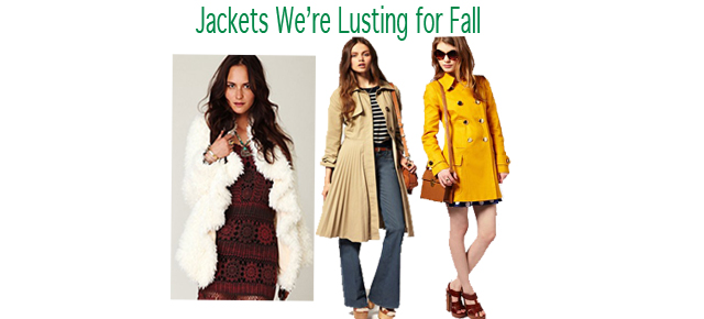 Jackets We're Lusting For Fall