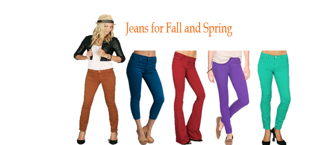 Spice Things Up with Colorful Jeans