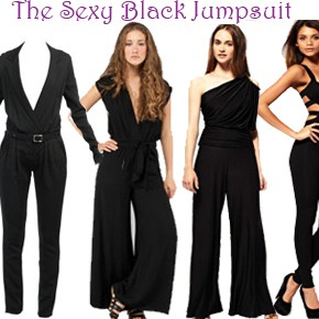 The Sexy Black Jumpsuit