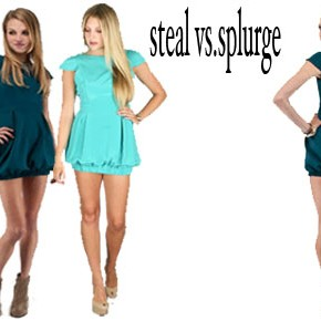 Steal vs Splurge
