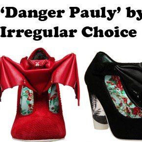 Bat-Ass Shoes by Irregular Choice