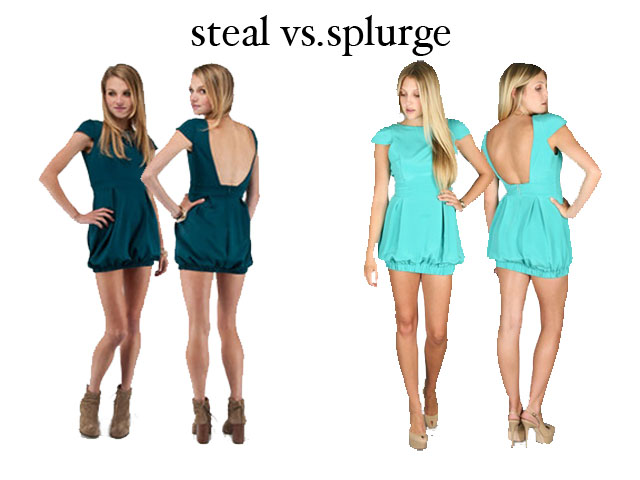 Steal vs Splurge | Fashionably Broke