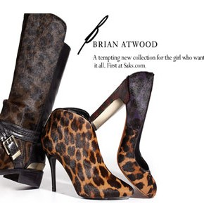 A Posh Event at Saks: The Launch of B Brian Atwood Shoe Collection