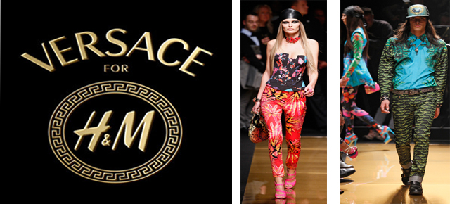 'Versace for H&M Hall on the Hudson' Fashion Show in New York