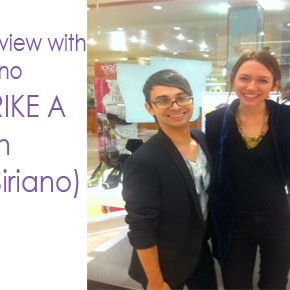 "A Fierce Interview with Christian Siriano for Payless (""STRIKE A POSE"" with Christian Siriano) for JayMarroqin.com + Fashionablybroke"