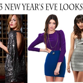 3 New Year's Eve Party Dresses