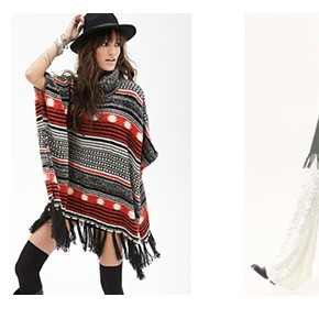 The Simple, yet Chic Poncho