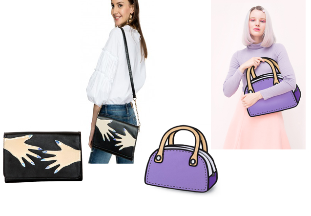 Kate Spade New York Over the Moon Rocket Clutch Moschino Cheap and Chic Bone Clutch, pixie market, jump from paper, katy perry